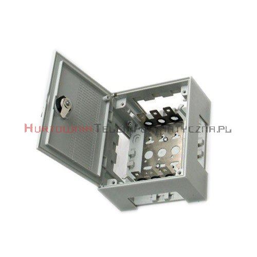 Box / skrzynka rozdzielcza LSA 30 parowa zamykana na kluczyk, typ KRONE