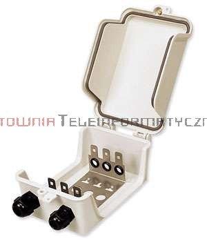 Box / skrzynka rozdzielcza LSA 30 parowa zamykana, hermetyczna