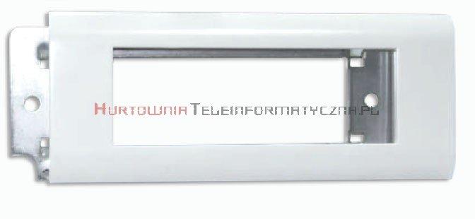 EMITER Ramka + support metalowy 45mm 6 modułowa