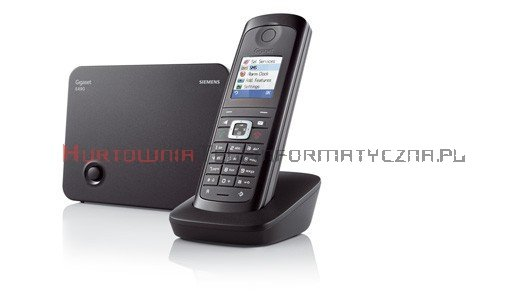 Telefon bezprzewodowy Siemens Gigaset E490
