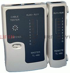 Tester kabli LAN RJ45, TEL RJ11