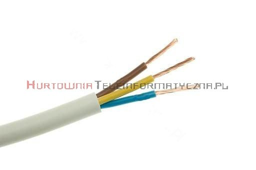 Kabel elektryczny linka 3x4,0mm OMY okrągły