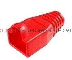 Osłona wtyku RJ45 gumowa czerwona