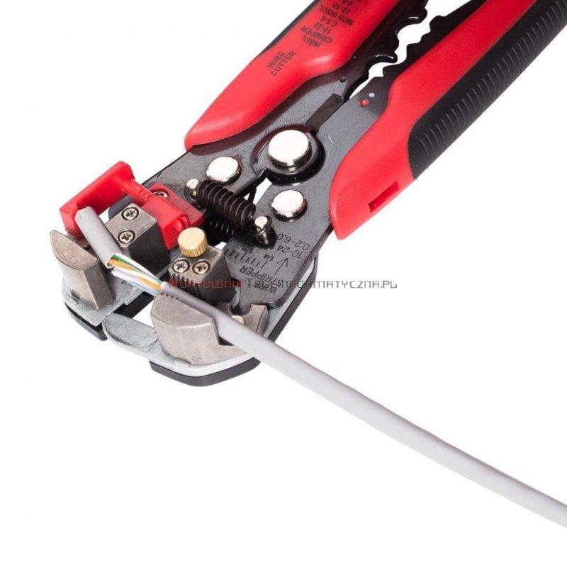 Ściągacz izolacji automatyczny boczny do kabli  0,5-6mm HT-766