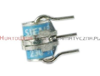 Bezpiecznik przepięciowy 3-elektrodowy gazowy