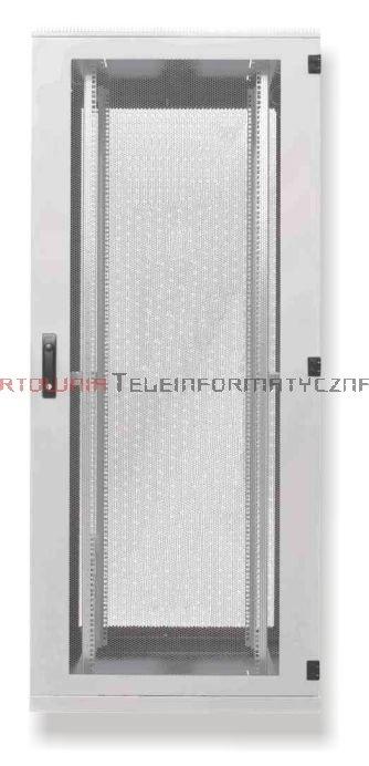 BKT Serwerowa szafa ramowa stojąca Standard II 42U, 800/1000/1980, szer./gł./wys. mm. drzwi perforowane, RAL 7035 ( konstrukcja spawana - nośność 1000 kg8)