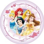 Modecor - opłatek na tort okrągły KSIĘŻNICZKI B