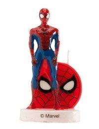 Świeczka urodzinowa na tort SPIDERMAN 3D