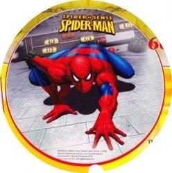 Kardasis - opłatek na tort okrągły Spiderman IV