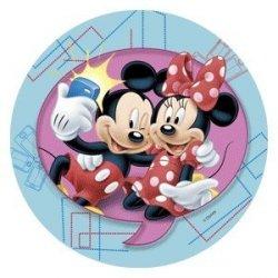 Modecor - opłatek na tort Mickey i Minnie Selfie