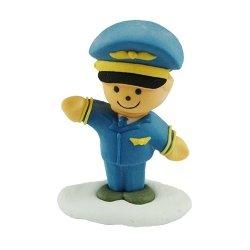 Figurka cukrowa Pilot samolotu - na tort