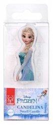Modecor - Świeczka urodzinowa Elsa z Krainy Lodu