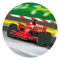 Modecor - opłatek na tort Ferrari