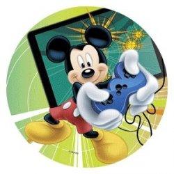 Modecor - opłatek na tort Myszka Mickey Player