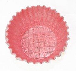 Waflowe jadalne papilotki foremki na muffinki czerwone 38 szt