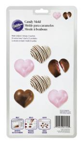 Forma do czekoladek pralinek w kształcie serc - Wilton