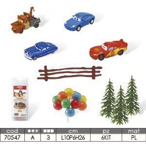 Modecor - Zestaw dekoracyjny The Cars