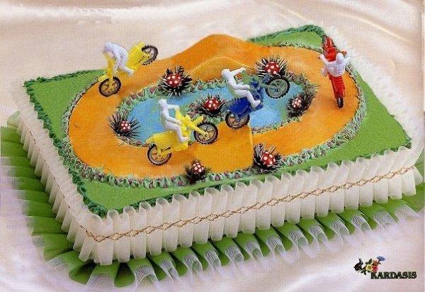 Kardasis - Taśma ozdobna na spód tortu 95 cm