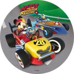 Modecor - opłatek na tort Myszka Mickey na wyścigach A