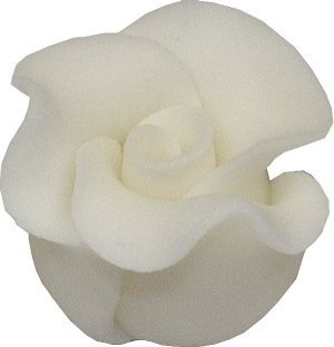 Róże cukrowe MAŁE 22szt białe