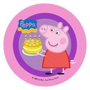 Modecor - opłatek cukrowy na tort Świnka Peppa D 14,5 cm