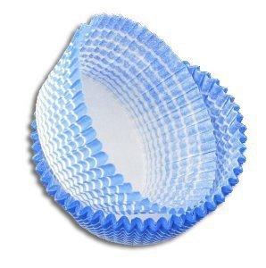 Papilotki foremki na muffinki 45mm niebieskie 100szt
