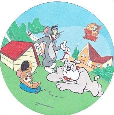 Kardasis - opłatek na tort okrągły Tom & Jerry