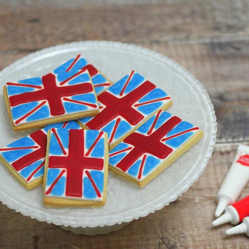 Pisak żelowy do dekoracji tortu ciastek 19g ZIELONY