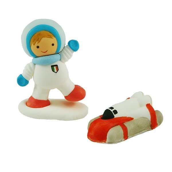 Figurka cukrowa Kosmonauta - na tort