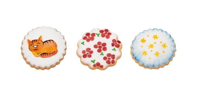Pędzelki cukiernicze okrągłe cienkie 3szt - Tescoma