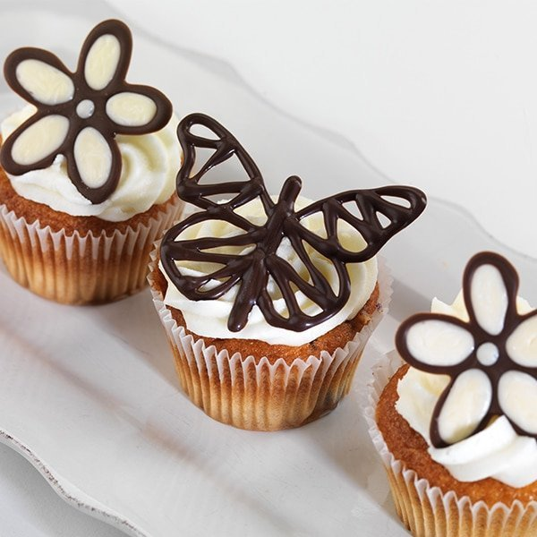 Pisak ZASTYGAJĄCY do dekoracji tortu ciastek MLECZNA CZEKOLADA 80g