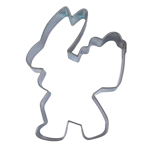 Wykrawacz FOREMKA do ciastek pierników ZAJĄC Z KOSZYKIEM 9,5cm