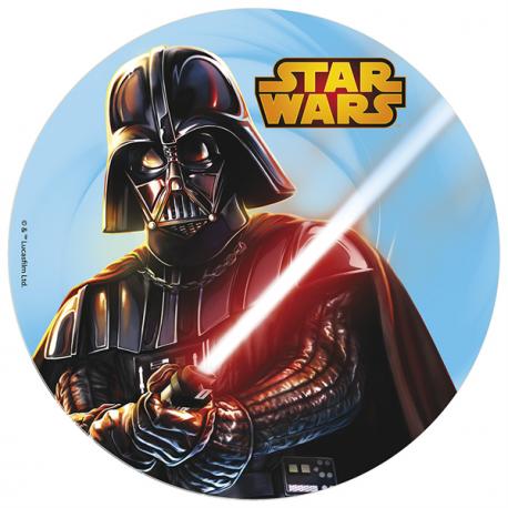 Opłatek na tort Star Wars Darth Vader