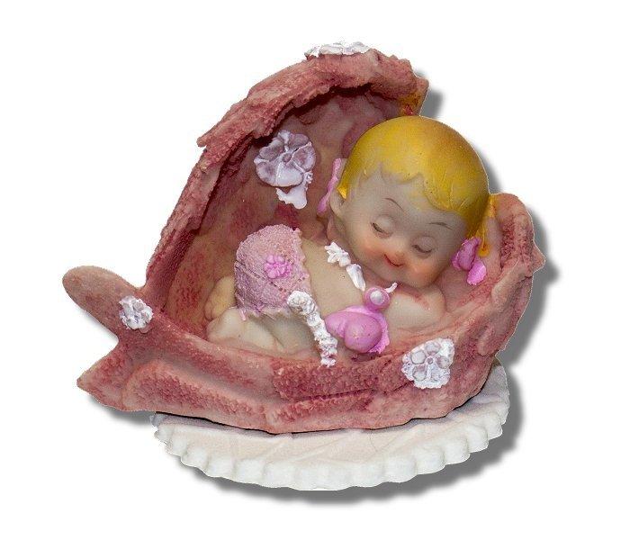 Hokus - Bobas w skrzydłach - dekoracja na chrzest dla dziewczynki