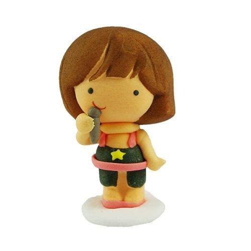 Figurka cukrowa ROCK GIRL - 3 wzory do wyboru - na tort