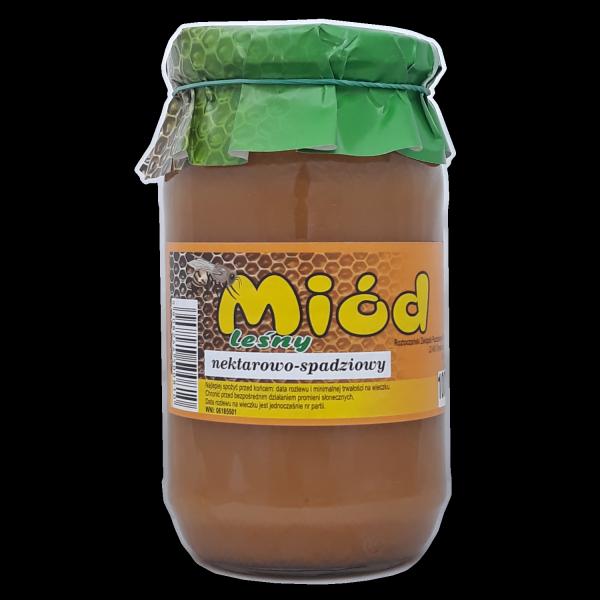 miód nektarowo-spadziowy 1000 g