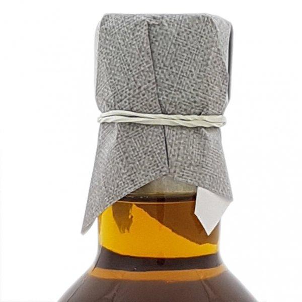 Olej świąteczny roztoczański 200 ml  bity tradycyjnie -  szyjka.