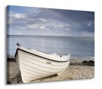 Obraz na ścianę - Biała łódź - 120x90 cm