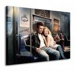 Obraz do salonu - Subway Ride - 80x60cm