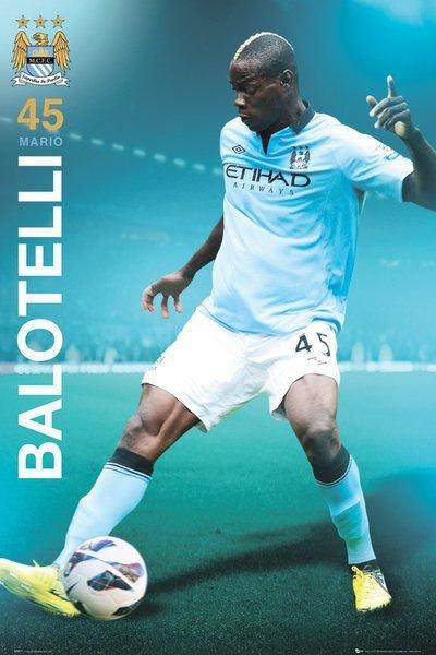 Manchester City Balotelli 1213 Plakat