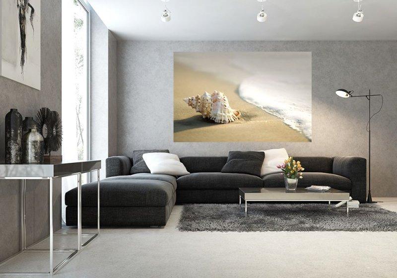 Fototapeta Do Sypialni Muszla Na Plaży Dekoracje ścienne