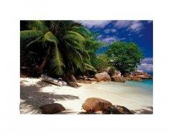 Seychelles - plaża - reprodukcja