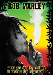 Bob Marley (herb) - plakat
