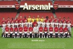 Arsenal (Team Photo 09/10) - plakat