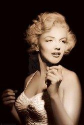 Marilyn Monroe (spotlight) - plakat