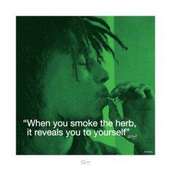 Bob Marley (Życiowe cytaty) - reprodukcja