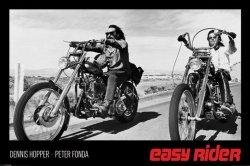 Easy Rider (Hopper & Fonda) - plakat