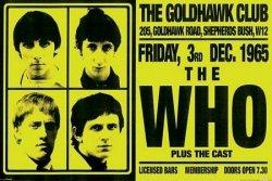 The Who (Goldhawke Club) - plakat