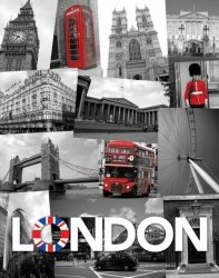 London (Union Jack) - plakat