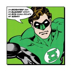 Green Lantern (Brightest Day) - reprodukcja